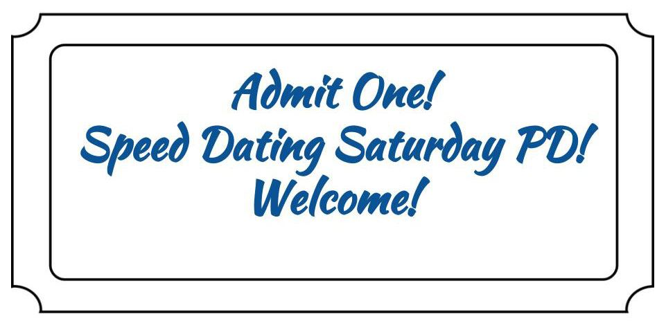 Speed Dating Admittance Ticket Image
