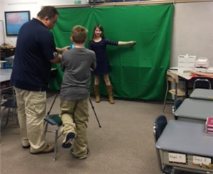Behind the Scenes: Green Screen Magic