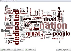 Free Tools for Learning / Wordle Word Cloud Creator