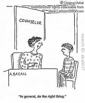 School Counselor Cartoon
